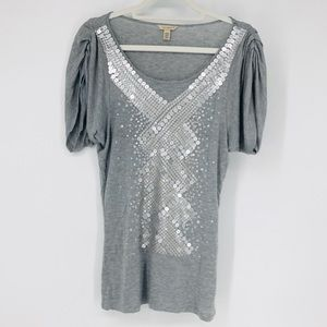 Ted Baker Cotton sequin top 6